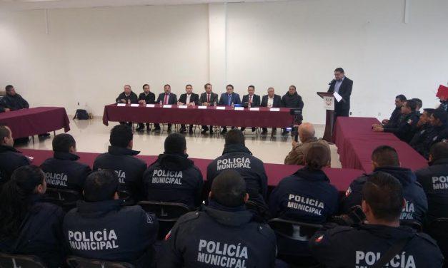 Capacitan a Policía de Tulancingo