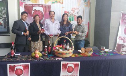 Presentan Festival Estatal de la Granada 2018