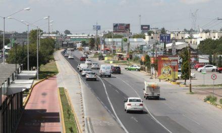 Sopot trabaja en mejoras viales en el Felipe Ángeles
