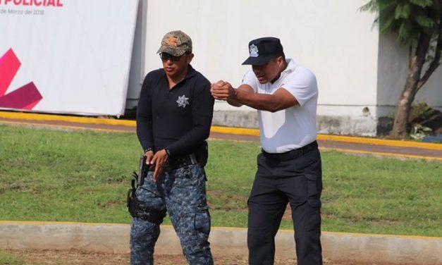 Instructores se capacitan en uso táctico de armamento