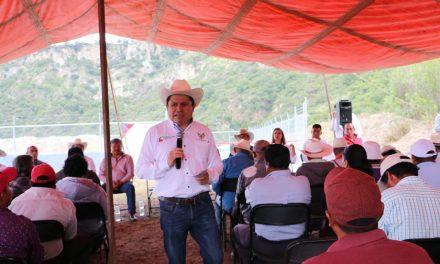 Inauguran olla de captación pluvial en Acatlán