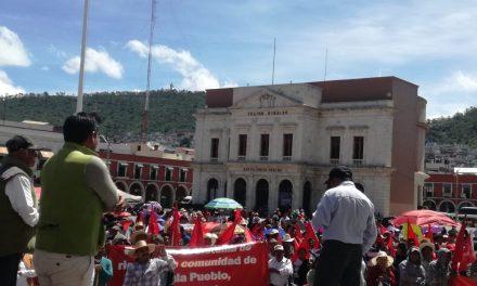 Antorchistas exigen 70 mdp en obras