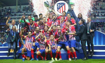 Atlético de Madrid campeón de Supercopa de Europa 2018