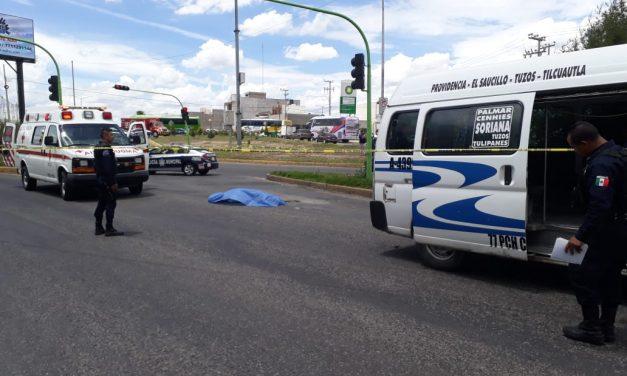 Muere persona tras ser atropellada en bulevar Miguel Hidalgo