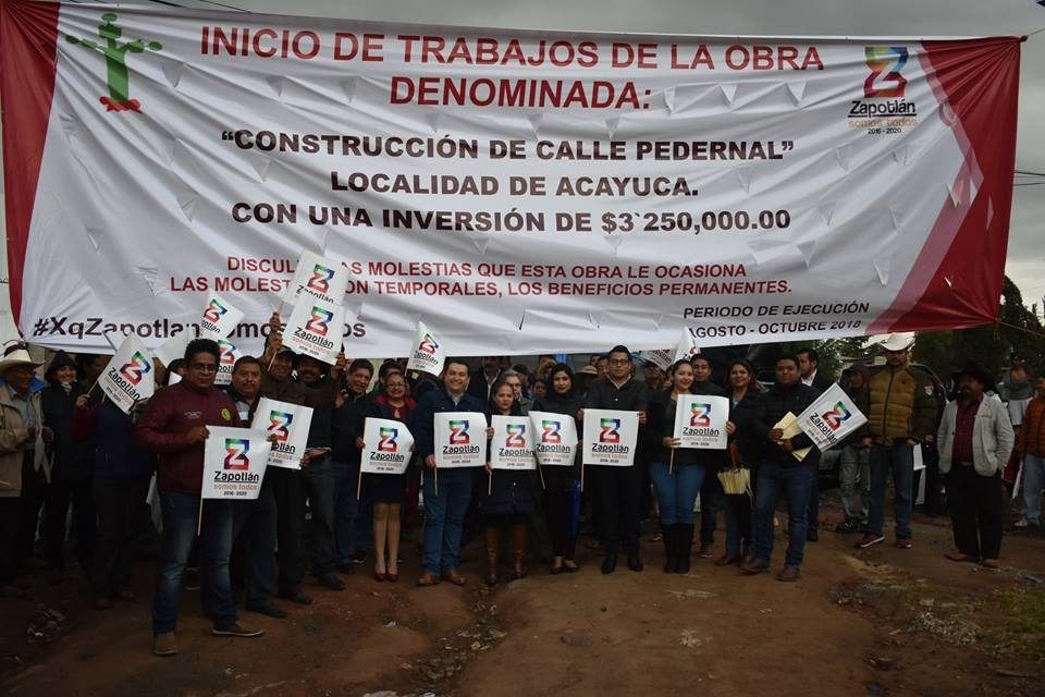 Acayuca, comunidad con rezago en infraestructura