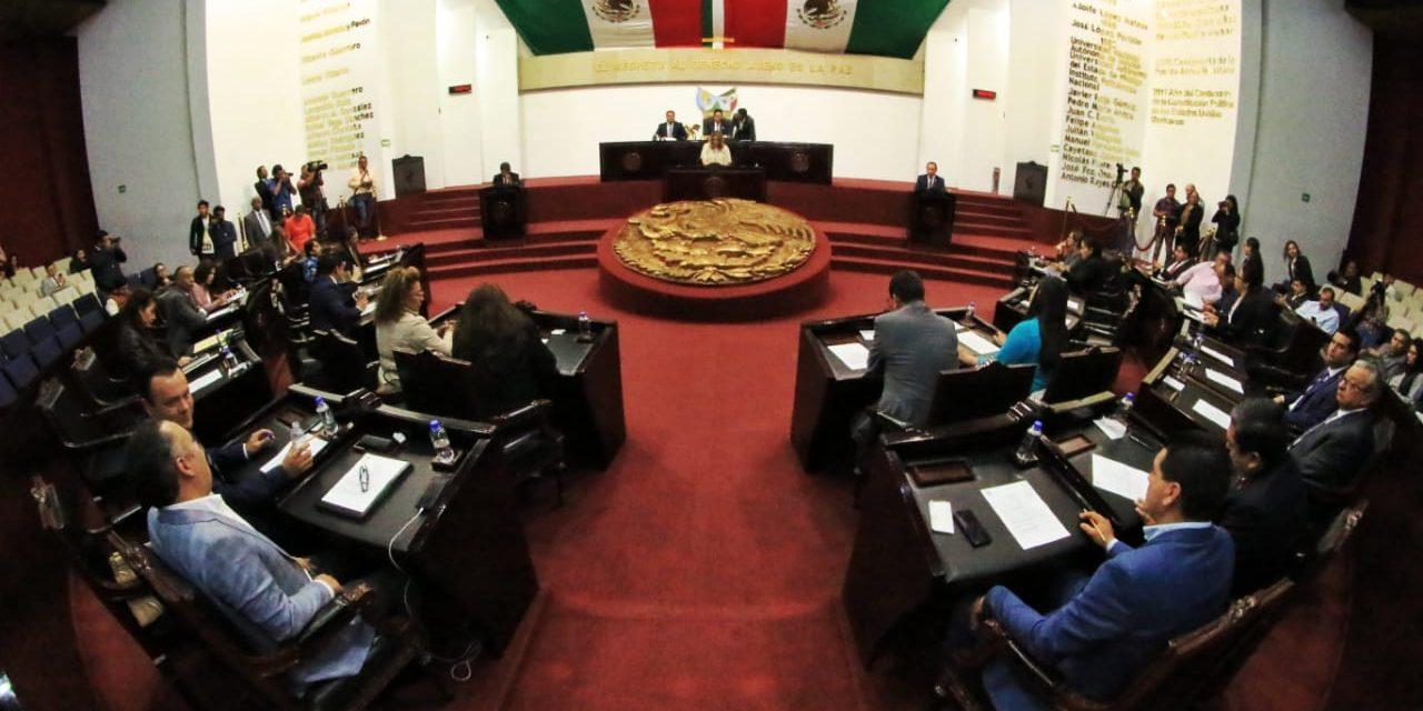 Sólo falta entregar oficinas a siguiente Legislatura