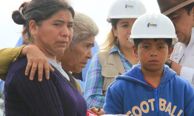 Apoyará Sedeso a familias de personas que fallecieron en mina