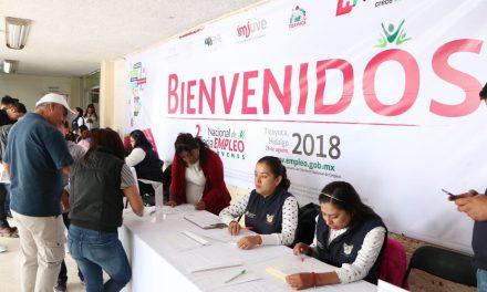 Realizan en Tizayuca Segunda Feria del Empleo