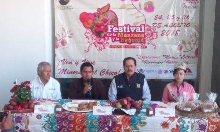 Color y sabor en Festival de la Manzana y la Begonia