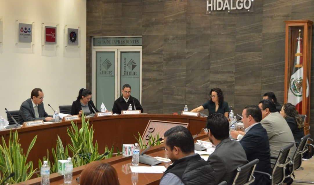 INE urge a IEEH  tomar protesta  a los nuevos consejeros