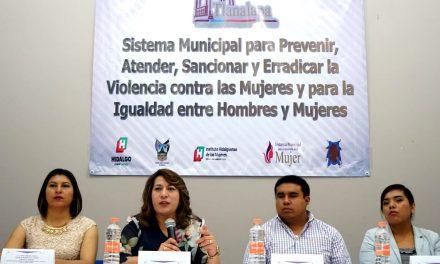 Piden instalar Sistema para prevenir violencia contra mujeres