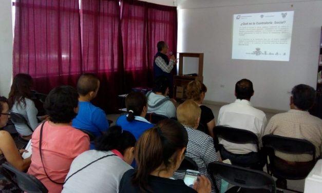 Comités de Contraloría Social de Tizayuca reciben capacitación