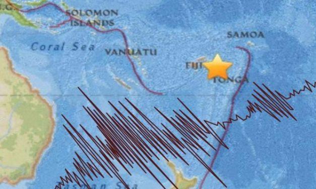 Sismo de 8.2 en Fiji