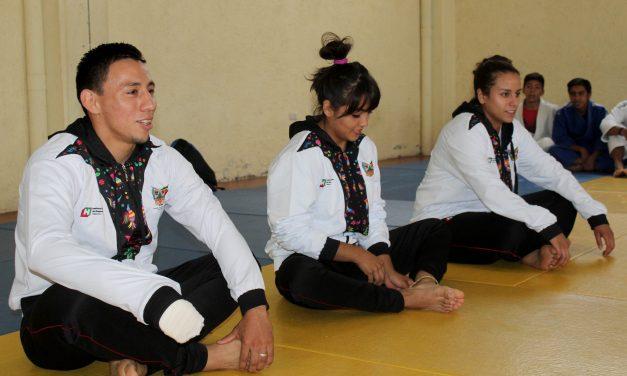 Medallistas centroamericanos conviven con deportistas