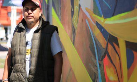 Jerome Stro, autor de más de 5 murales en Latinoamérica