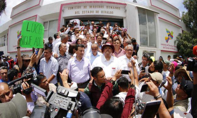 Tras marcha, interpone diputada electa queja en CDHEH