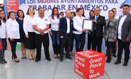 Recibe Mineral de la Reforma certificación Great Place to Work