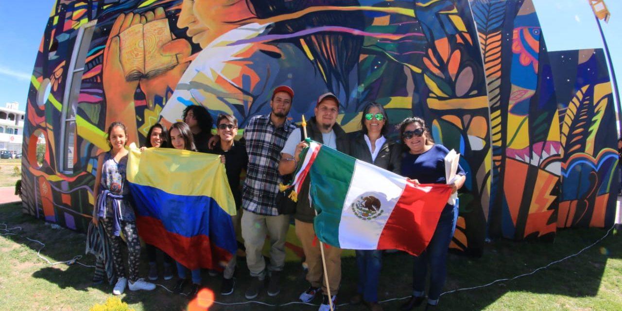 Inauguran Encuentro de Muralismo en La Providencia