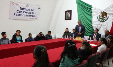 Reconocen a niños defensores de Derechos Humanos