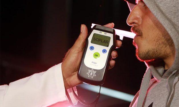 Reanudan operativo Alcoholímetro en Tulancingo