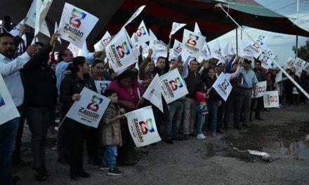 Más de 4 mil beneficiarios con pavimentación en Zapotlán