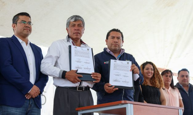 Firman convenio para promover cultura en Tizayuca