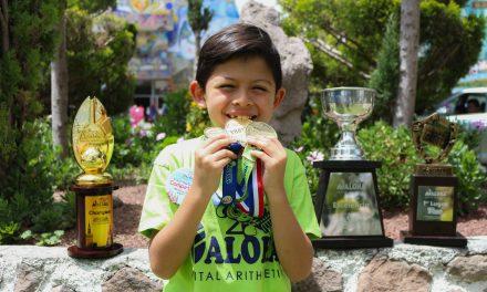 Niño hidalguense campeón en Rusia