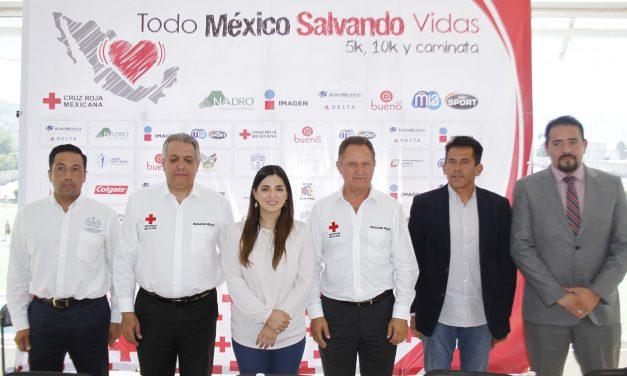 Presentan carrera «Todo México Salvando Vidas»