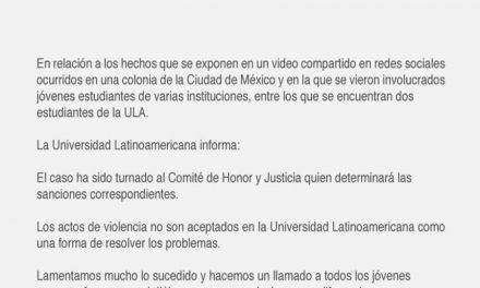Tras video viral de mujeres peleando, Universidades se pronuncian en contra