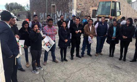 Darán mantenimiento a avenida Revolución de Acayuca