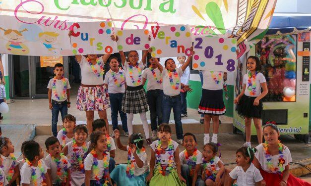 Concluyen cursos de verano en Tizayuca