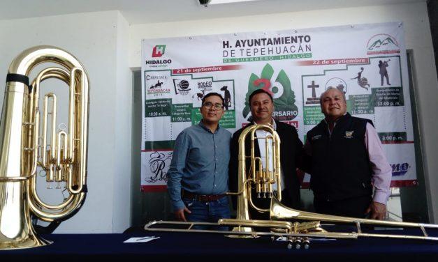 Tepehuacán alista festejos por el 136 aniversario de su conformación