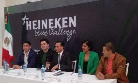 """Lanzan concurso """"Heineken Green Challenge"""""""