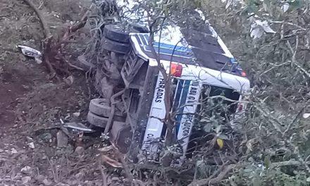Accidente en la México-Tuxpan deja mínimo 5 lesionados