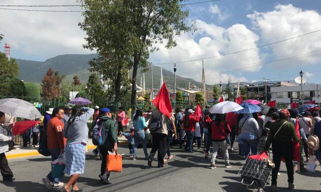 Denuncian colonos que Antorcha los obliga a manifestarse