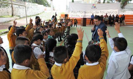 Previenen delitos en niños y adolescentes en Tolcayuca