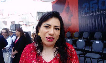 Victoria Ruffo rendirá informe la primera quincena de octubre