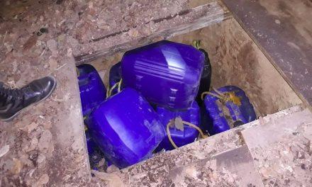 Encuentran hidrocarburo en fosas subterráneas