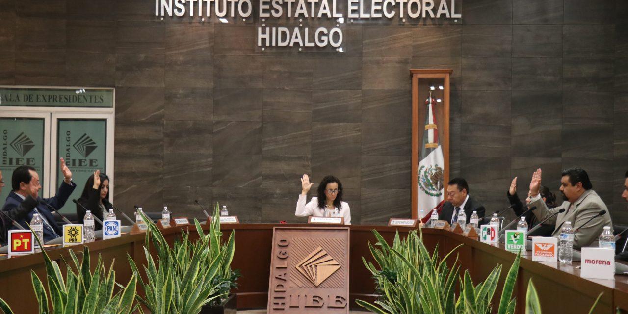 Informe de la presidenta del IEEH será el próximo año