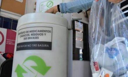 Avanza en Hidalgo el manejo adecuado de medicamentos caducos