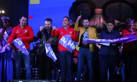 Inauguran Feria San Francisco Pachuca 2018
