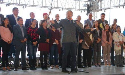 Anuncia AMLO 2 universidades para Hidalgo