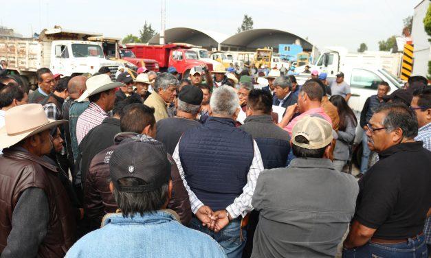 Alcalde de Tizayuca establece acuerdos con ejidatarios