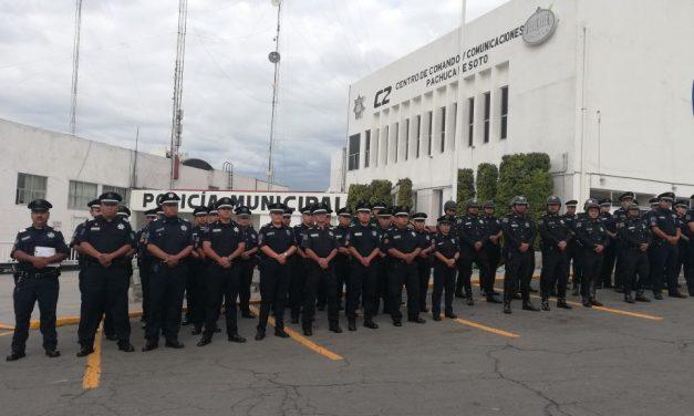 Pachuca tiene déficit de 50 % de policías; municipio dice que 25 %