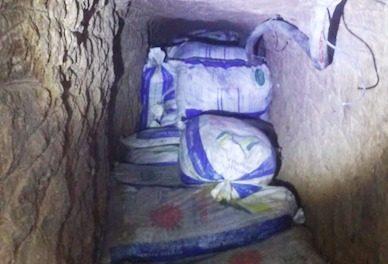 Aseguran SSPH y Pemex túnel y toma clandestina en Tlapacoya