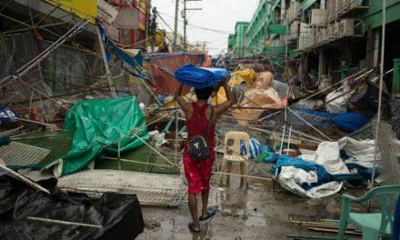 Tifón Mangkhut deja 66 muertos en Filipinas