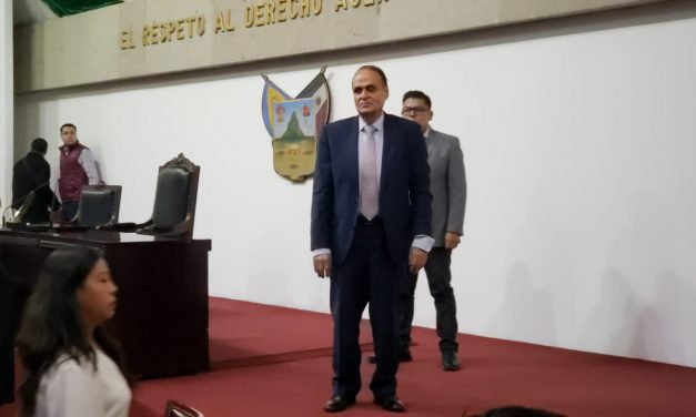 Veras Godoy declara nuevo receso en el Congreso del Estado