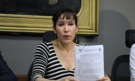 Perusquía, oficialmente presidenta de la Junta de Gobierno