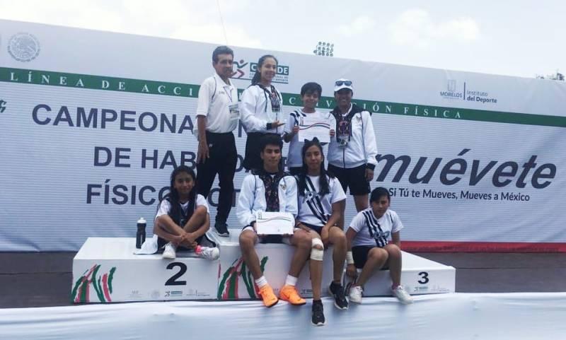 Oro y Plata para Hidalgo en Nacional de Habilidades