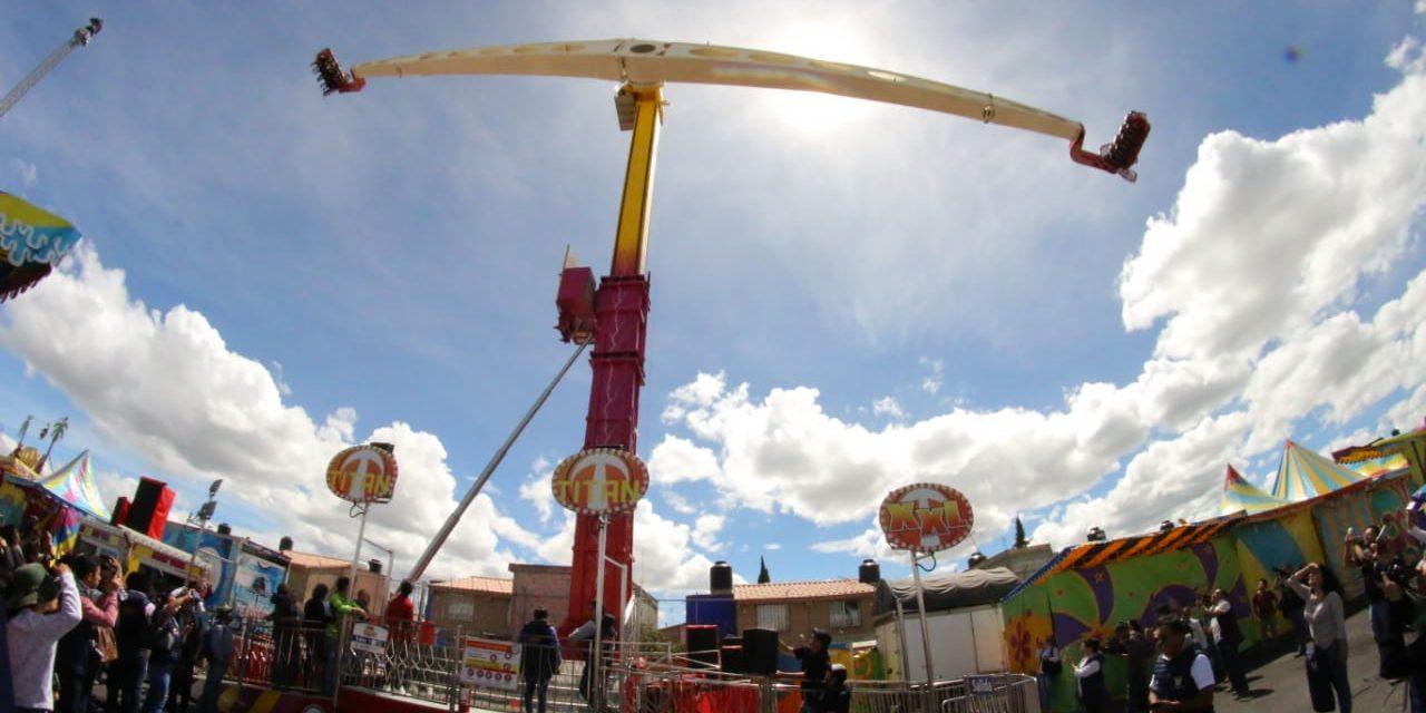 Feria De Pachuca Cuenta Con 39 Juegos Mecanicos Al Dia Noticias